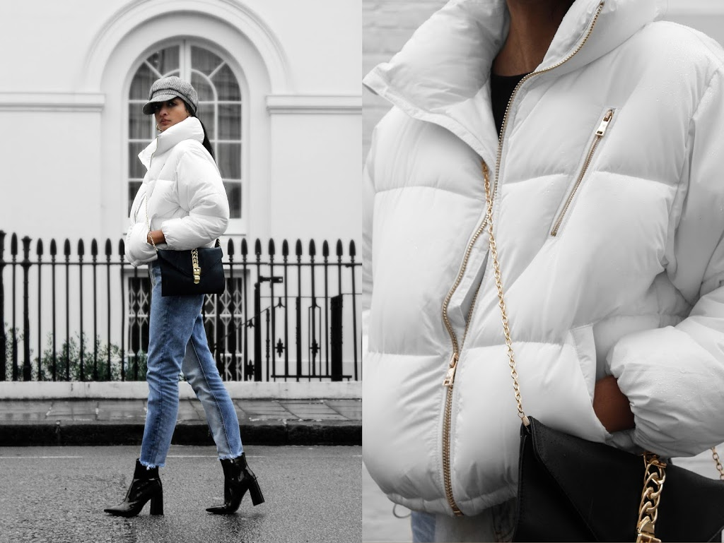 THE WHITE PUFFER JACKET